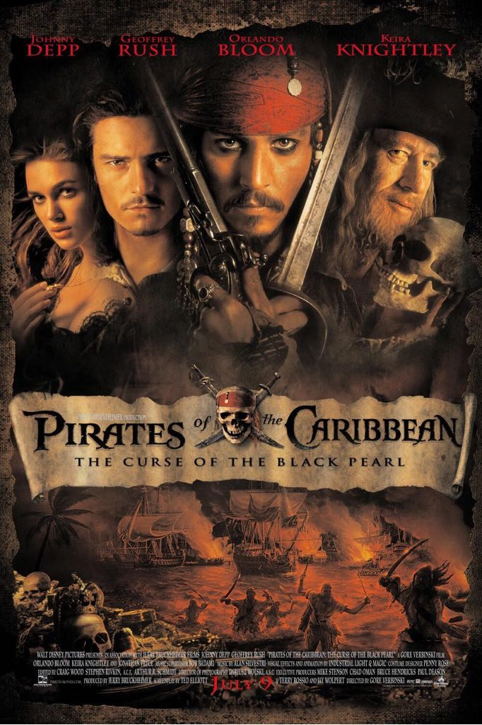 Pirates of the Caribbean: The Curse of the Black Pearl -  cover