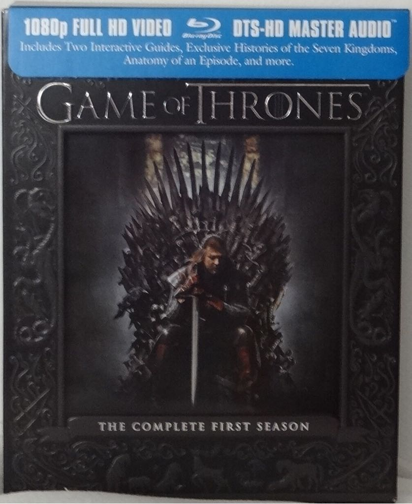 Game Of Thrones The Complete First Season -  cover