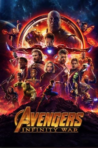 Avengers Infinity War -  cover