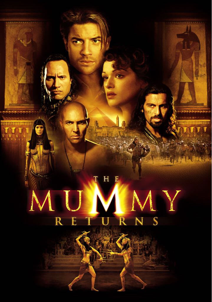 The Mummy Returns -  cover