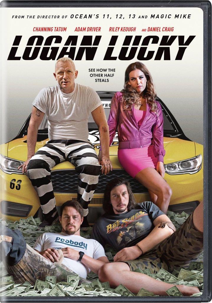 Logan Lucky -  cover
