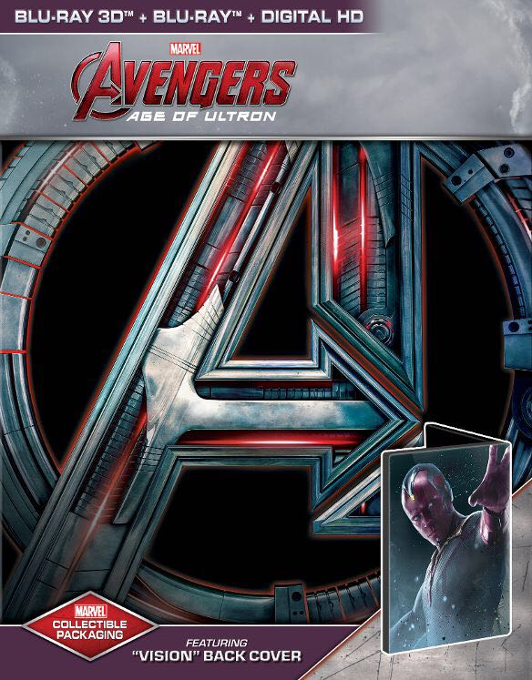 Avengers Age Of Ultron -  cover