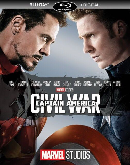 Captain America: Civil War -  cover