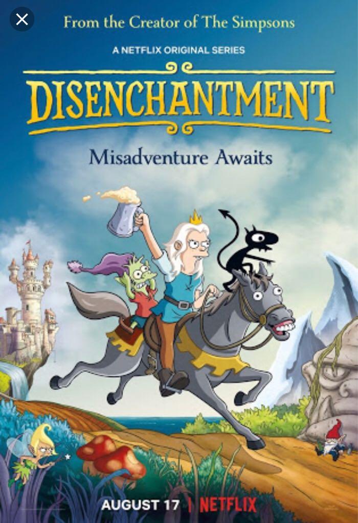Disenchantment (Season 1) -  cover