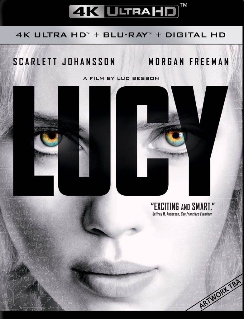 Lucy 4K Bluray -  cover