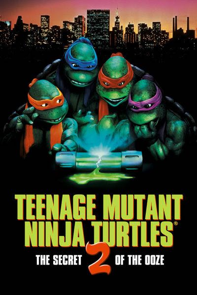 Teenage Mutant Ninja Turtles 2: The Secret Of The Ooze -  cover