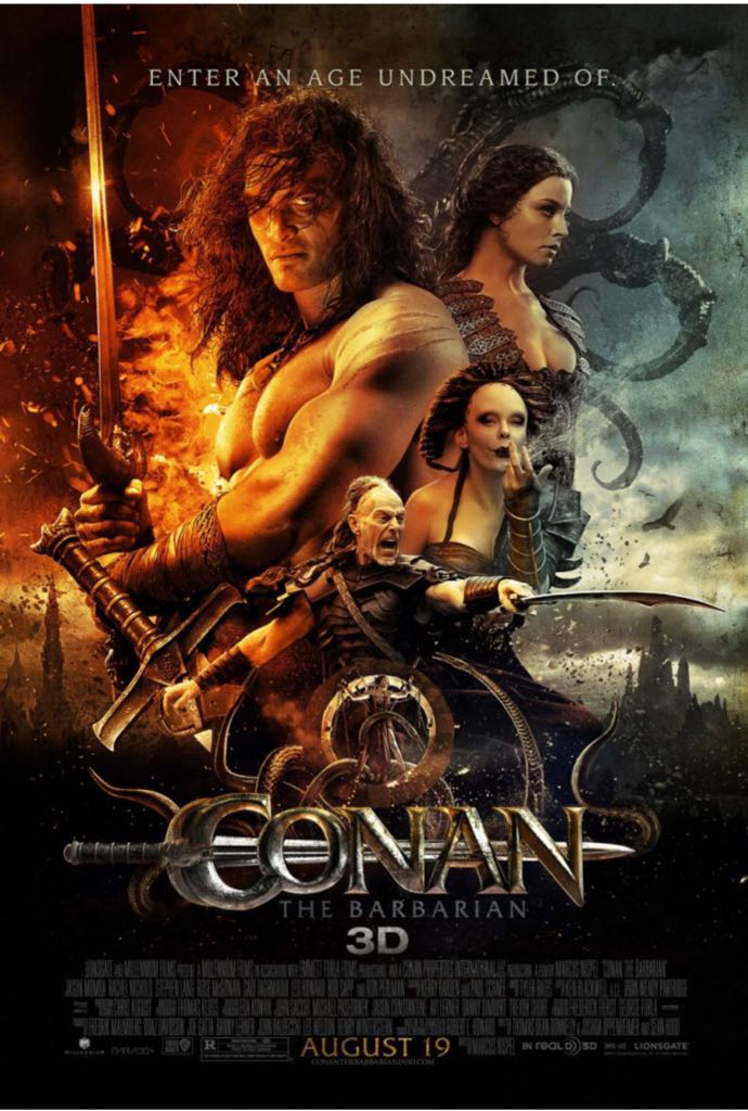 Conan The Barbarian  -  cover