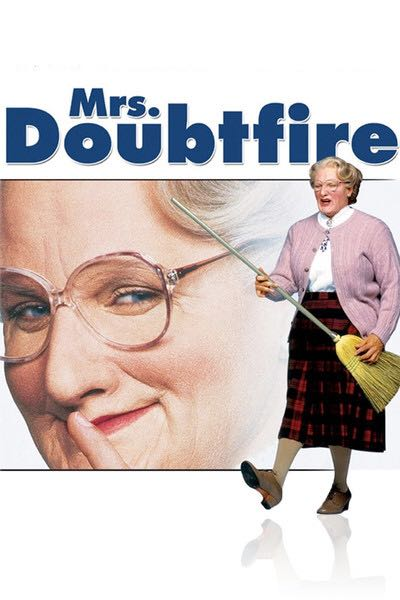 Mrs Doubtfire -  cover
