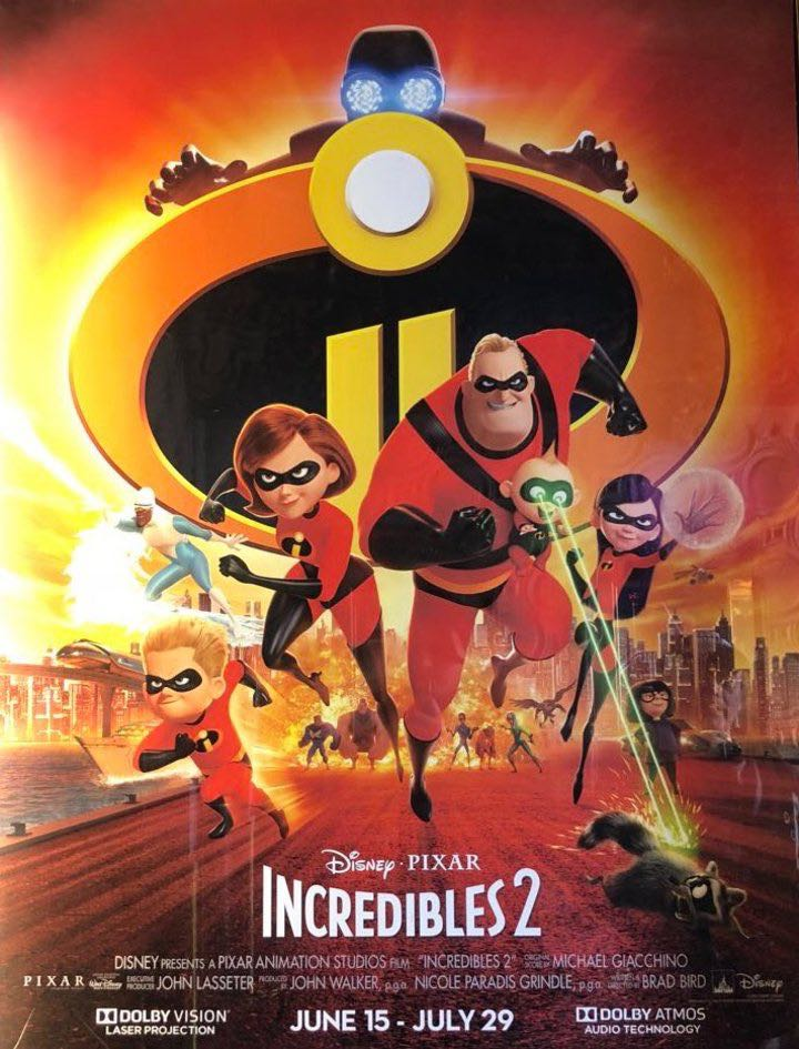 Los Increibles 2 -  cover