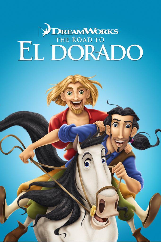 The Road to El Dorado -  cover