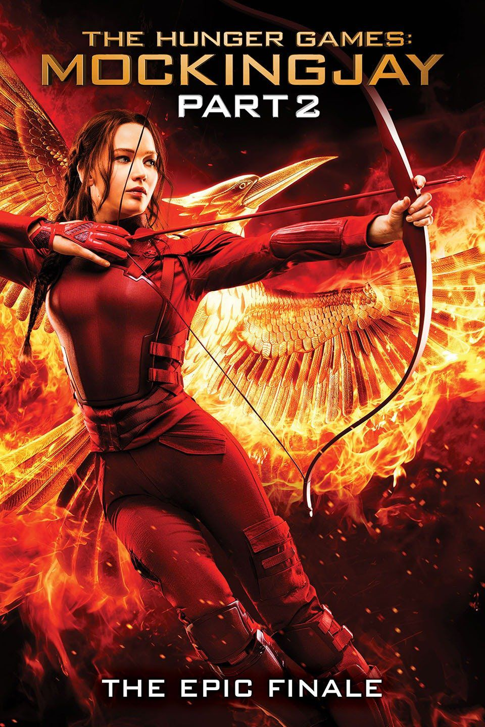 The Hunger Games: Mockingjay Part 2 -  cover
