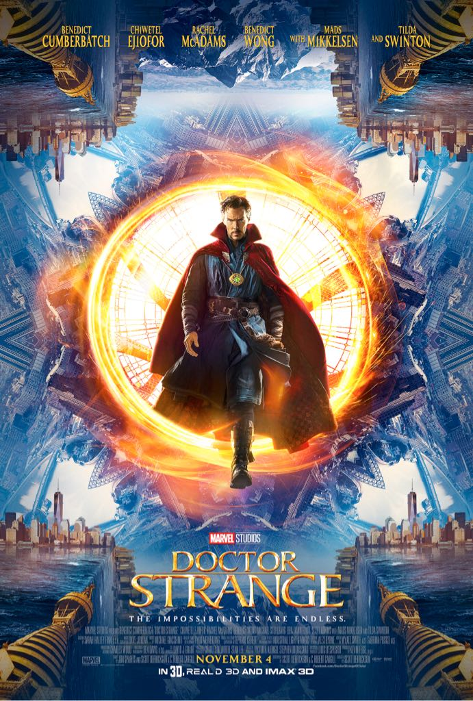 Dr Strange -  cover