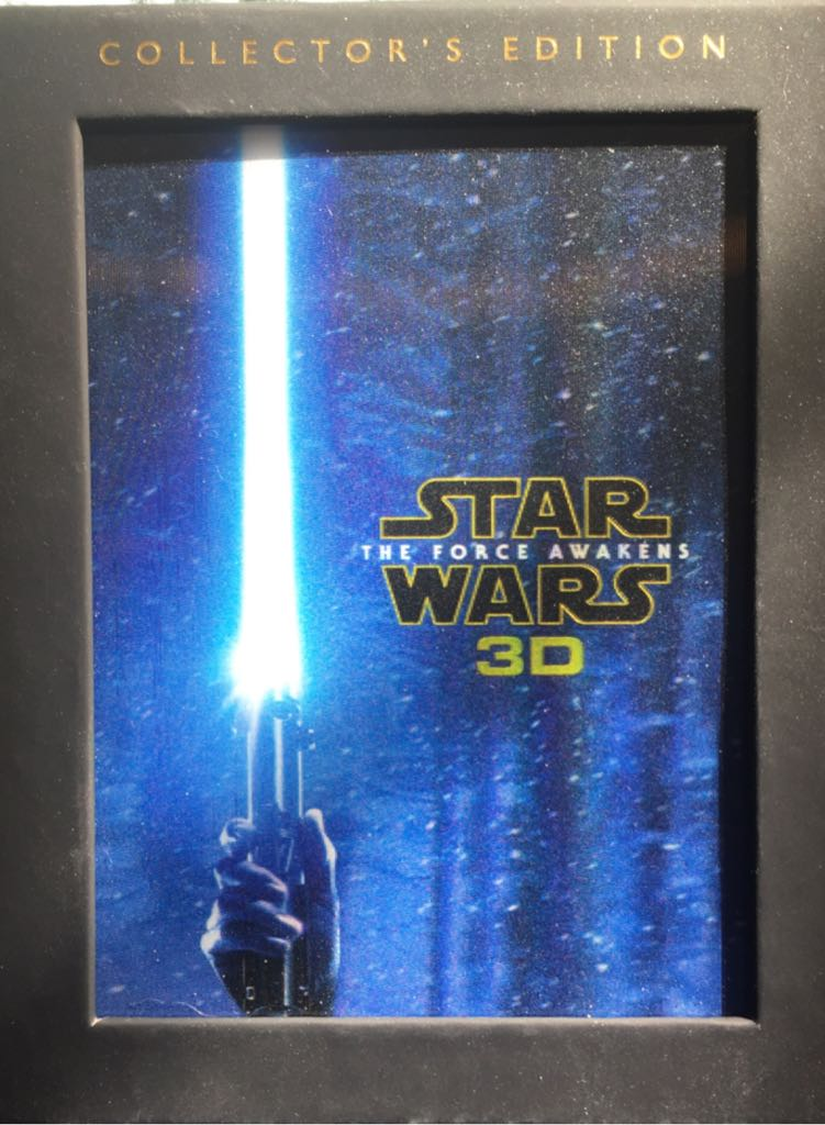 Star Wars The Force Awakens 3D -  cover
