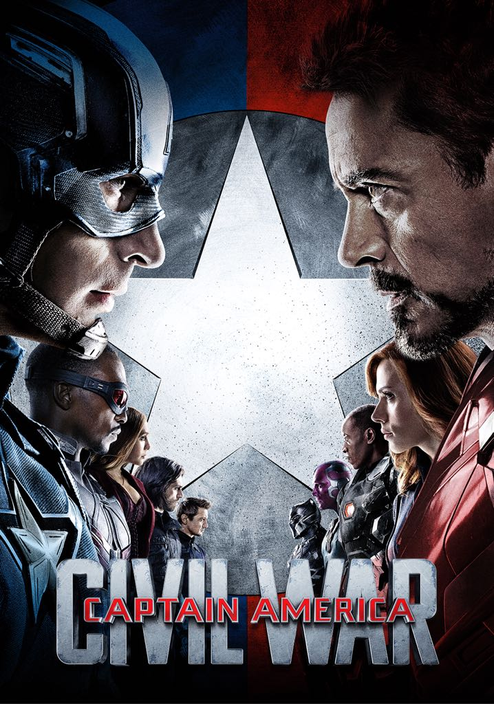 Captain America - Civil War -  cover