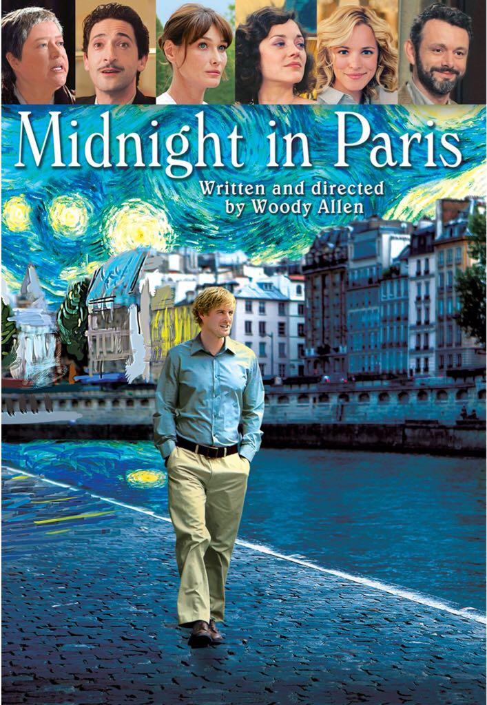 Midnight In Paris -  cover