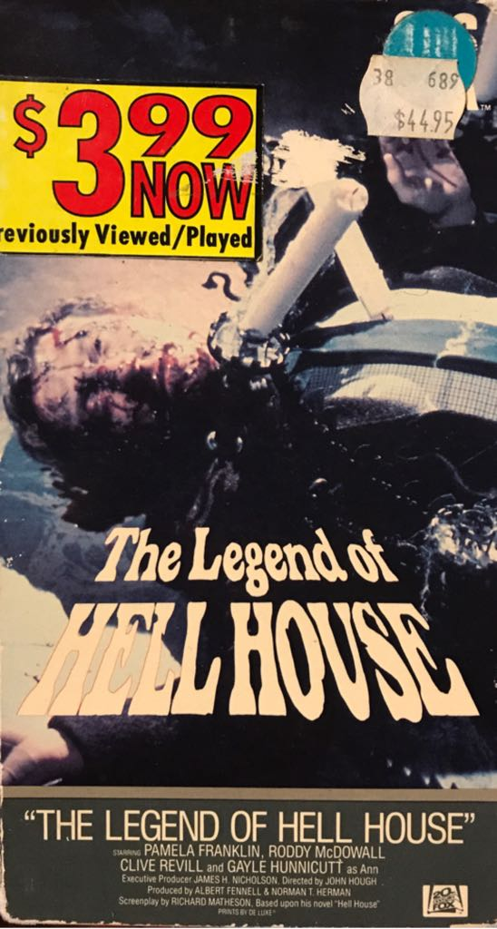 The Legend of Hell House -  cover