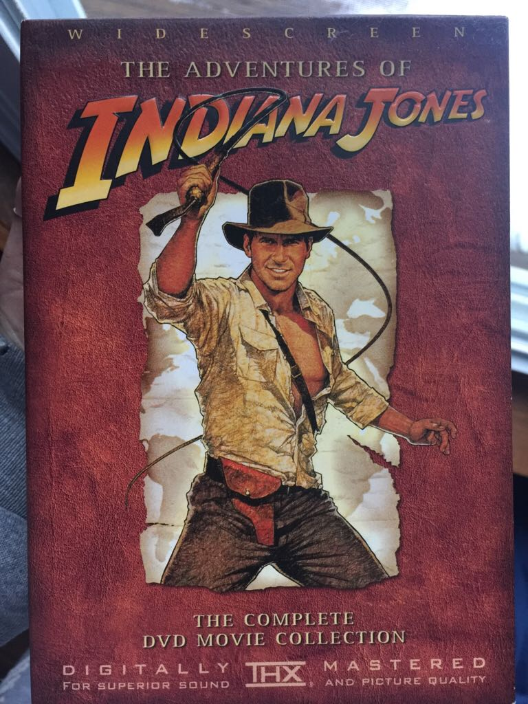 The Adventures Of Indiana Jones The Complete Dvd Movie Collection -  cover