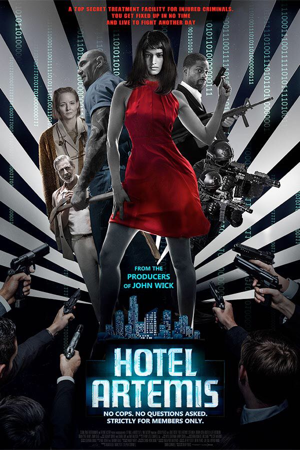 Hotel Artemis -  cover