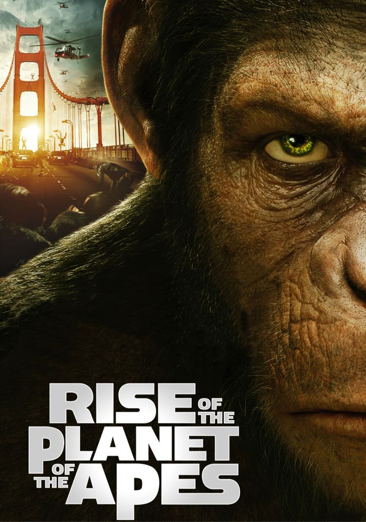 rise of the planet of the apes -  cover