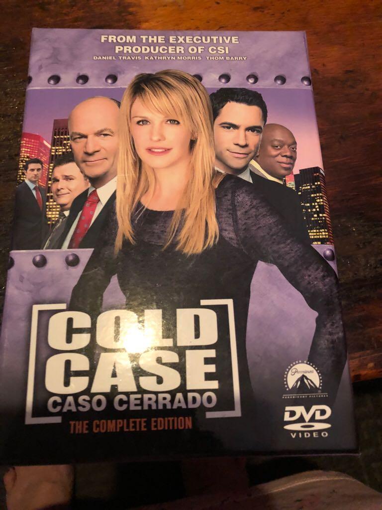 Cold Case Caso Cerrado -  cover