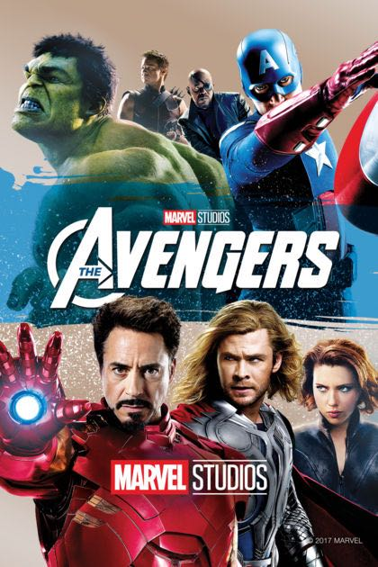 The Avengers -  cover