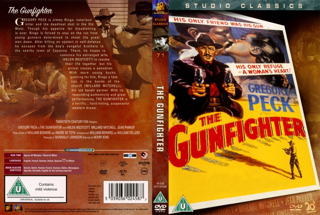 The Gunfighter -  cover
