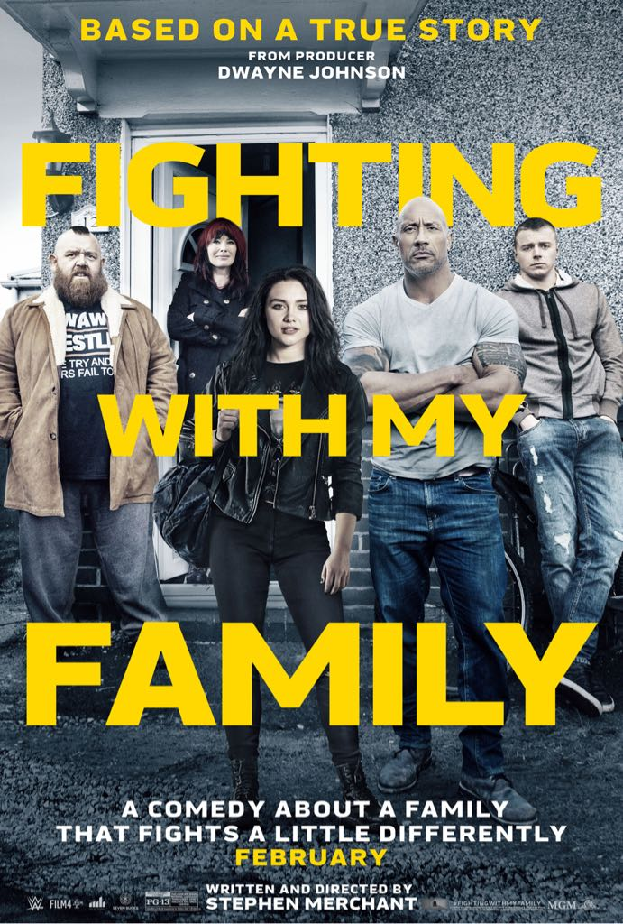 Fighting With My Family -  cover