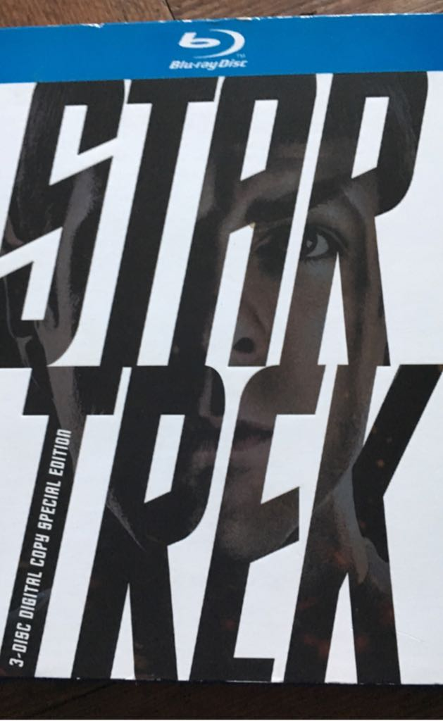 Star Trek - Blu-ray 3-Disk Digital Copy Special Edition -  cover