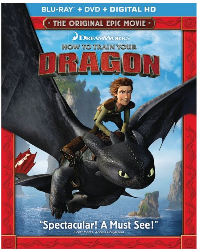 How To Train Your Dragon -  cover