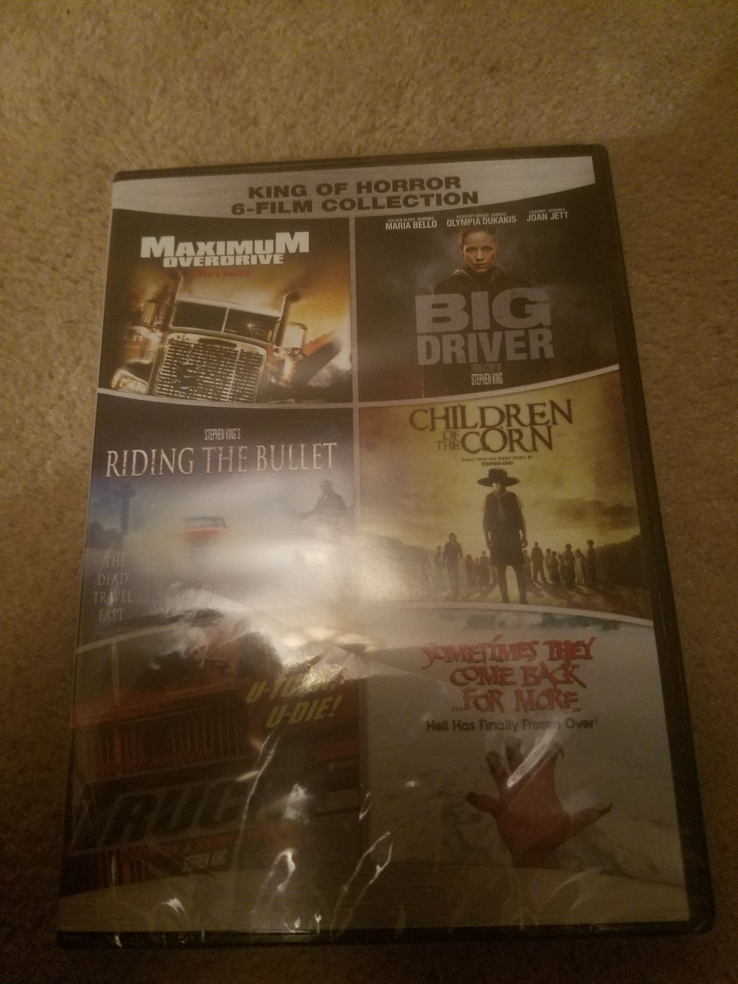 King Of Horror 6 Movie Collection -  cover