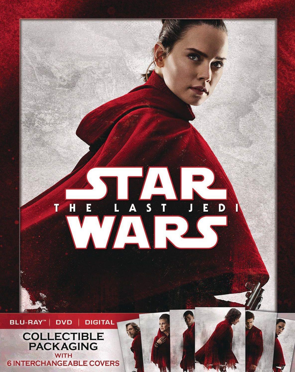 Star Wars Episode VIII: The Last Jedi -  cover