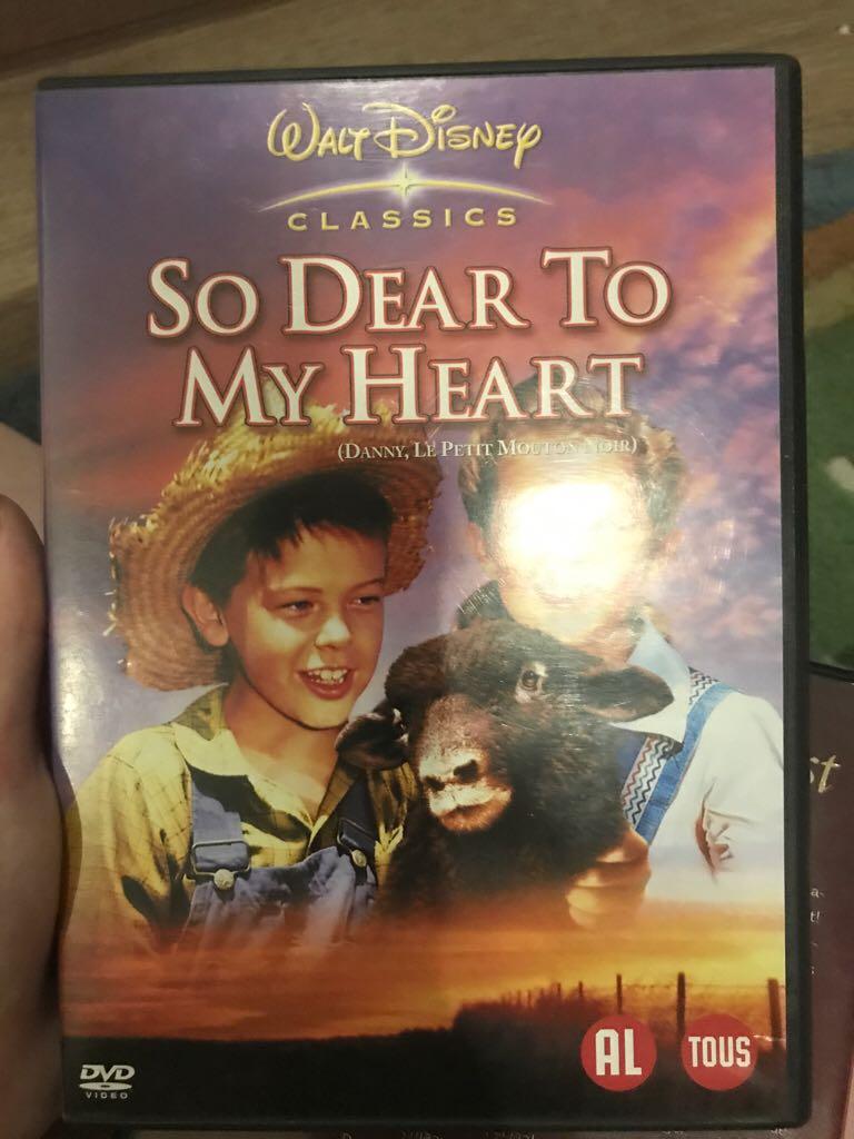 So Dear To My Heart -  cover