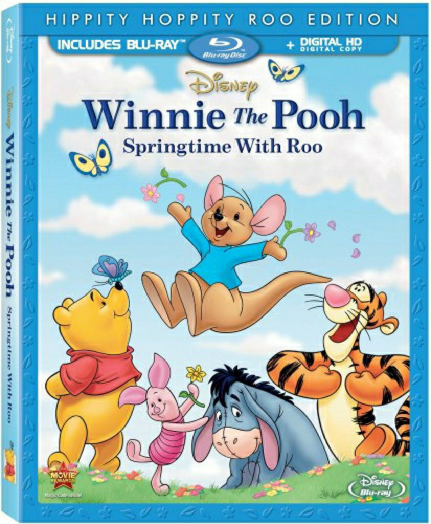 Winnie The Pooh: Springtime With Roo -  cover