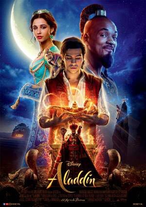 Aladdin 2019 -  cover