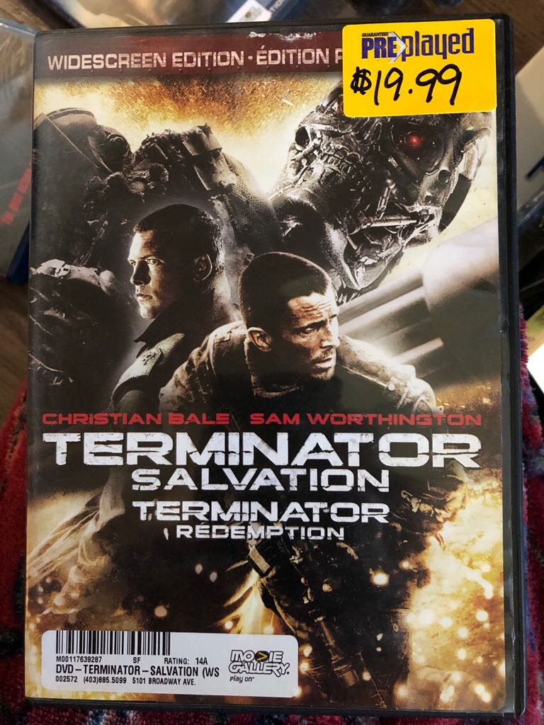 Terminator Salvation -  cover
