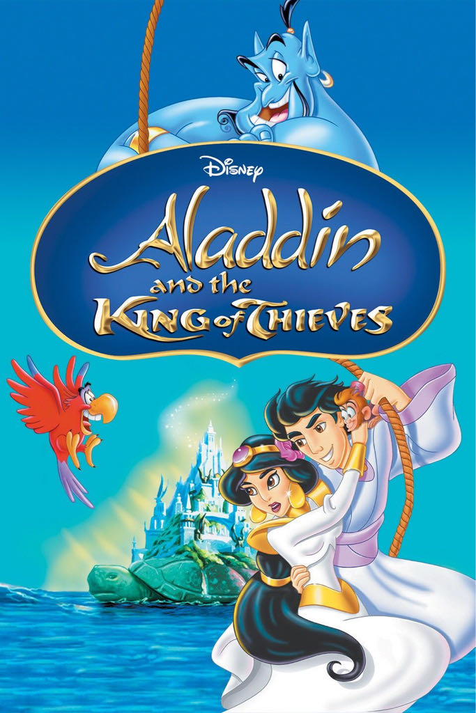 Aladdin: The King of Thieves -  cover