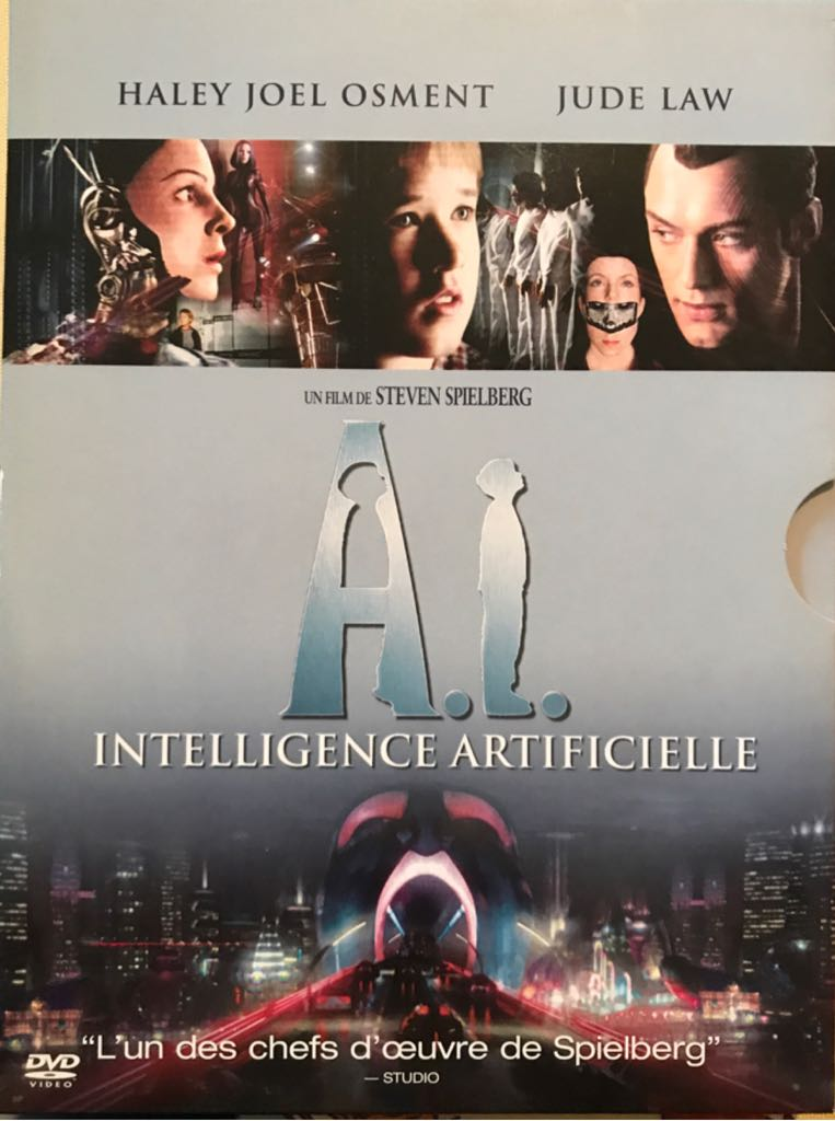 A. I. Intelligence Artificielle - édition Collector Limitée -  cover