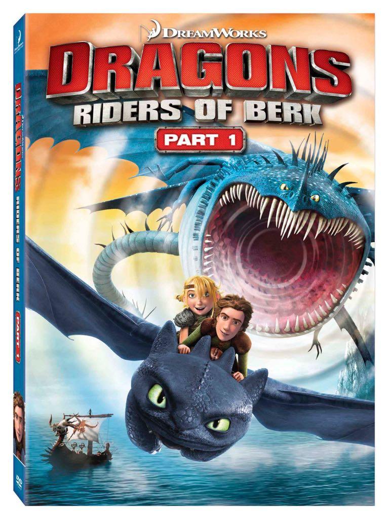 Dragonriders Of Berk Part 1 -  cover