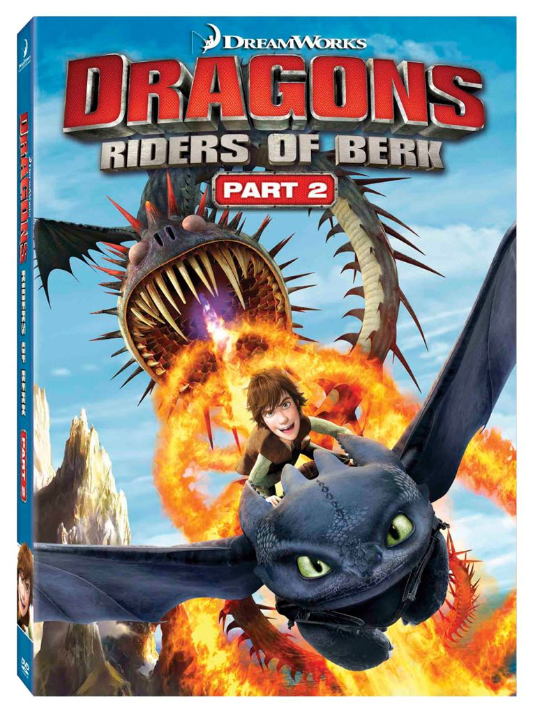 Dragonriders Of Berk Part 2 -  cover