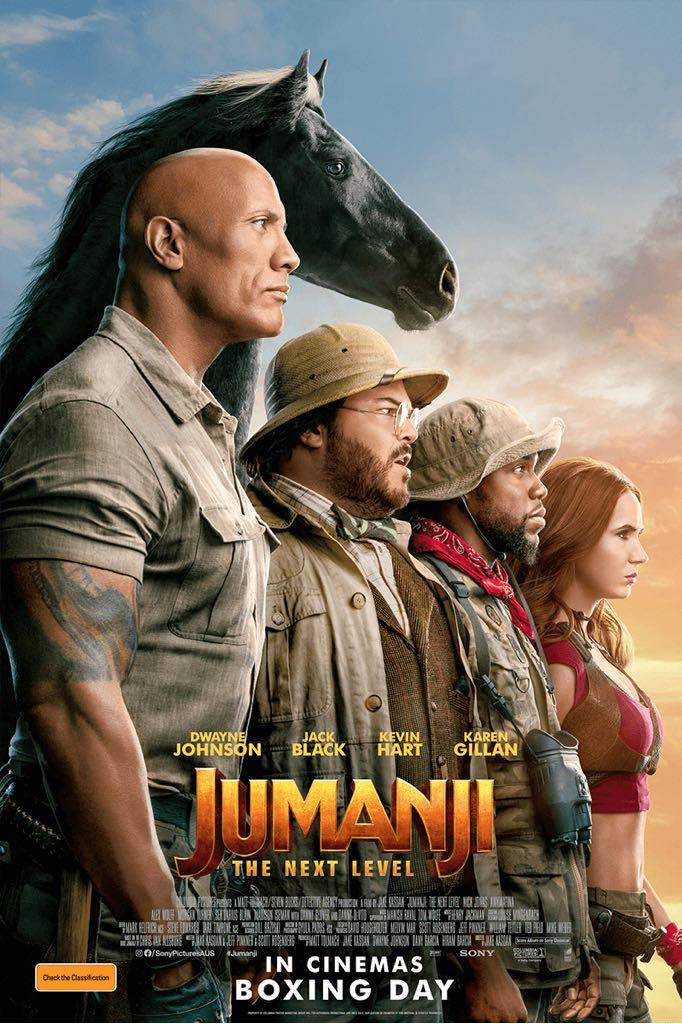 Jumanji: The Next Level -  cover