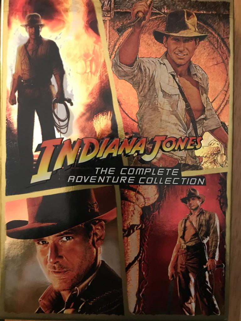 Indiana Jones: The Complete Adventures -  cover