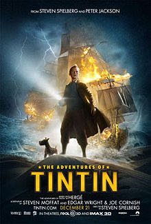 The Adventures Of Tin Tin -  cover