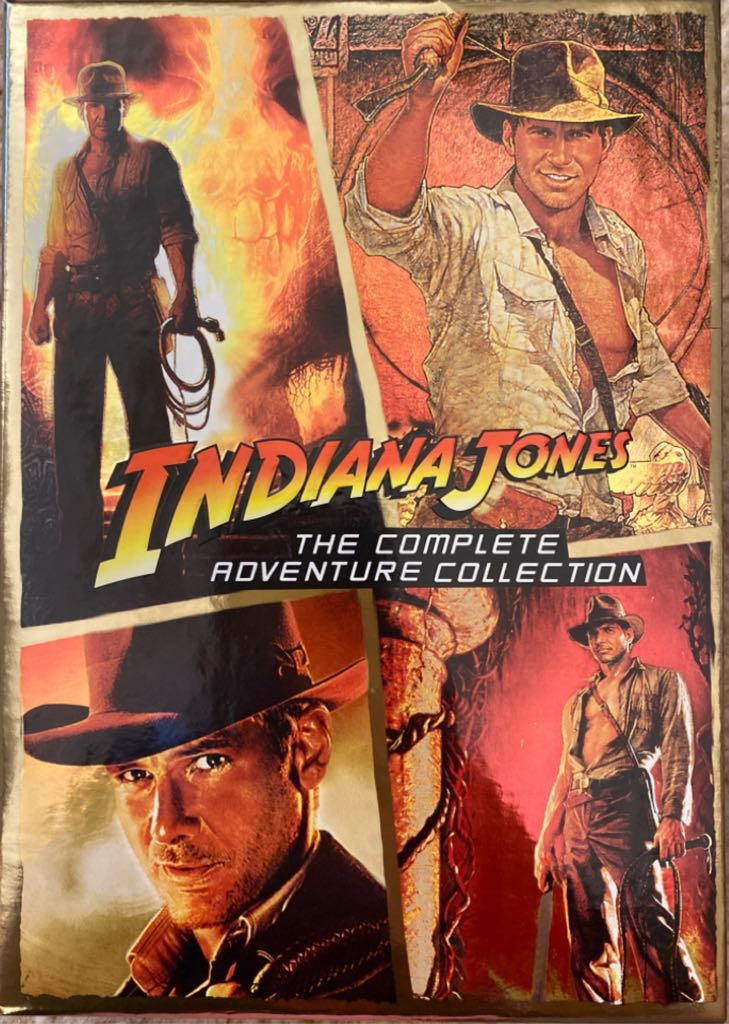 Indiana Jones: The Complete Adventure Collection -  cover