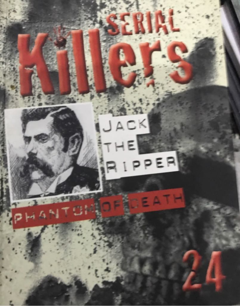 Serial Killers 24 - Jack The Ripper -  cover