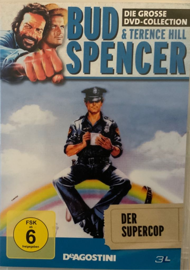 Bud Spencer & Terence Hill - Der Supercop  -  cover