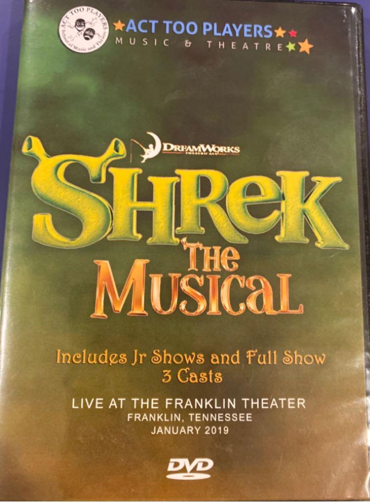 Shrek The Musical - ATP -  cover