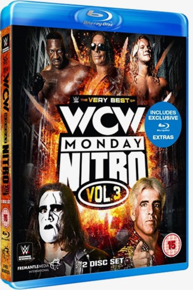 WWE - The Very Best Of WCW Monday Nitro Vol. 3 -  cover