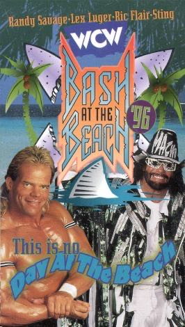 WCW Bash At The Beach 96 -  cover