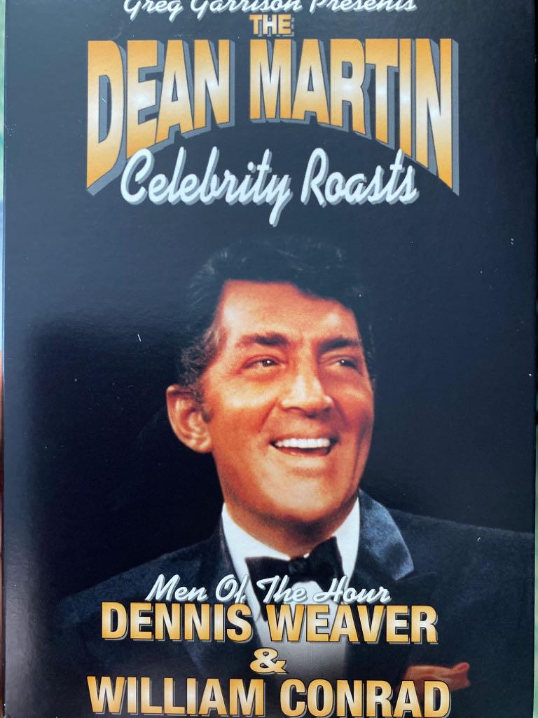 The Dean Martin Celebrity Roasts Dennis Weaver & William Conrad -  cover