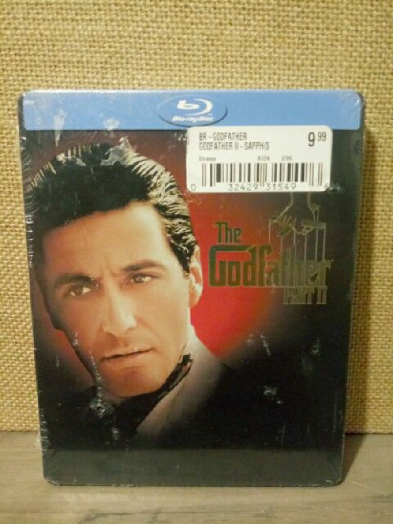 The Godfather  Part 2 Steelbook -  cover